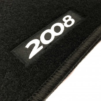 Peugeot 2008 (2016 - current) tailored logo car mats