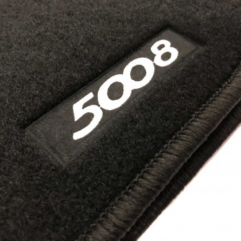 Peugeot 5008 5 seats (2009 - 2017) tailored logo car mats