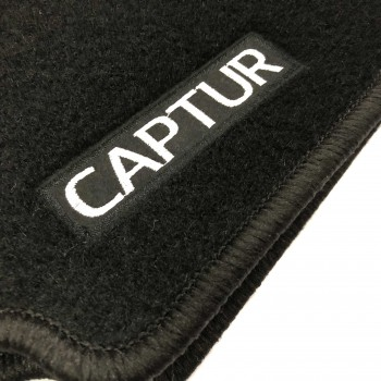 Renault Captur Restyling (2017 - current) tailored logo car mats