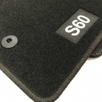 Volvo S60 (2000 - 2009) tailored logo car mats