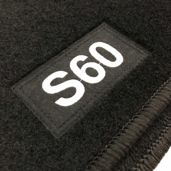 Volvo S60 (2010 - 2019) tailored logo car mats