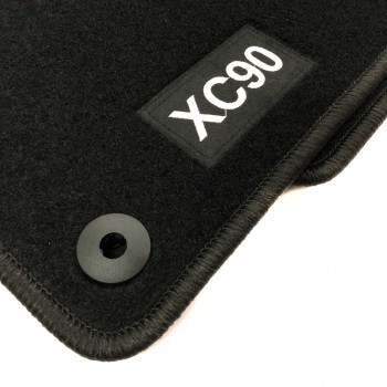 Volvo XC90 5 seats (2015 - current) tailored logo car mats