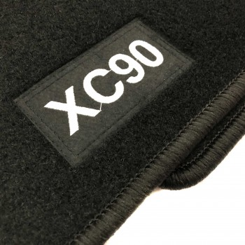 Volvo XC90 7 seats (2015 - current) tailored logo car mats