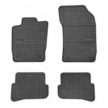 Audi A1 rubber car mats (2010-2018)