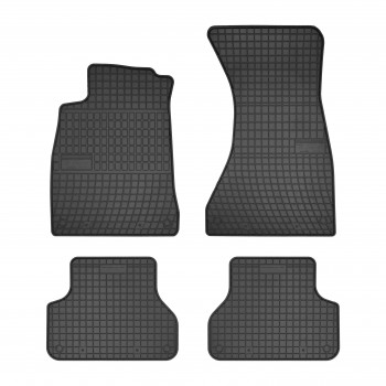 Audi A4 B9 Avant Quattro (2016 - current) rubber car mats