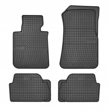 BMW 1 Series E87 5 doors (2004 - 2011) rubber car mats