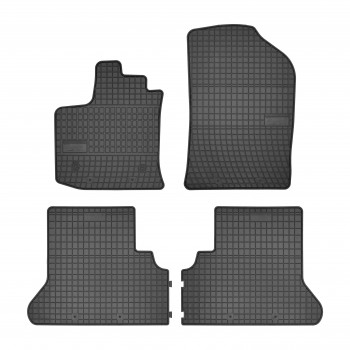 Dacia Dokker (2012 - current) rubber car mats