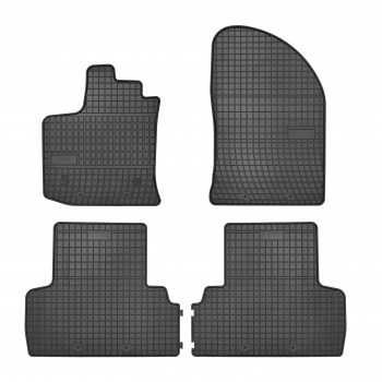 Dacia Lodgy 5 seats (2012 - current) rubber car mats