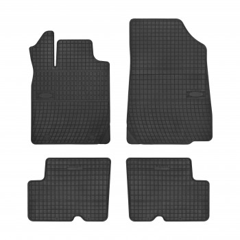 Dacia Logan 5 seats (2007 - 2013) rubber car mats
