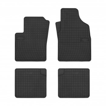 Fiat 500 C (2014 - current) rubber car mats