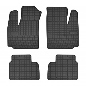 Fiat Doblo 5 seats (2001 - 2009) rubber car mats