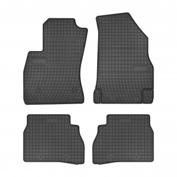 Fiat Doblo 5 seats (2009 - current) rubber car mats