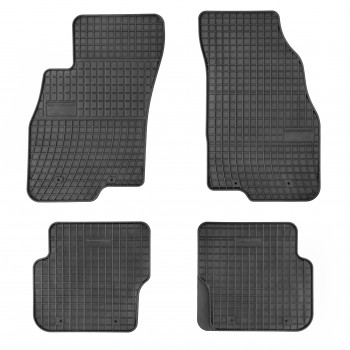 Fiat Punto Evo 3 seats (2009 - 2012) rubber car mats