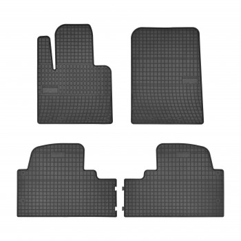 Hyundai Santa Fé 7 seats (2012 - current) rubber car mats