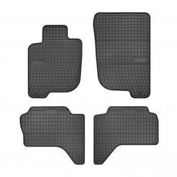 Mitsubishi L200 Doble cabina (2006 - current) rubber car mats