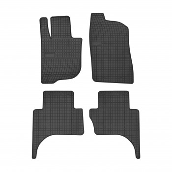Mitsubishi L200 doble cabina (2016-current) rubber car mats