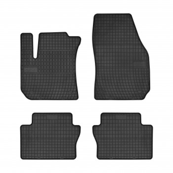 Opel Zafira B 5 seats (2005 - 2012) rubber car mats