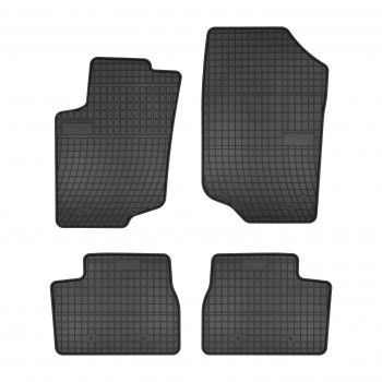 Peugeot 207 3 or 5 doors (2006 - 2012) rubber car mats
