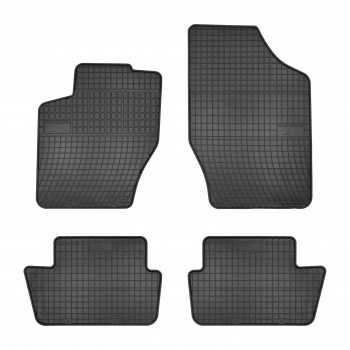 Peugeot 307 3 or 5 doors (2001 - 2009) rubber car mats