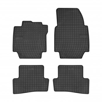 Renault Captur Restyling (2017 - current) rubber car mats