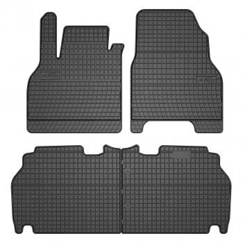Renault Kangoo touring (2008 - current) rubber car mats
