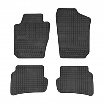 Skoda Fabia Hatchback (2015 - current) rubber car mats
