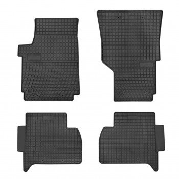 Volkswagen Amarok Double cab (2010 - current) rubber car mats