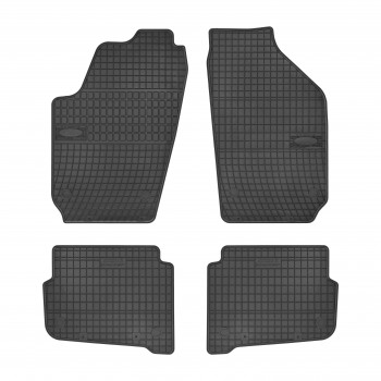 Volkswagen Polo 9N3 (2005 - 2009) rubber car mats