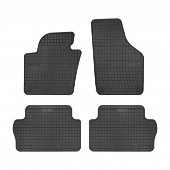 Volkswagen Sharan 7 seats (2010 - current) rubber car mats