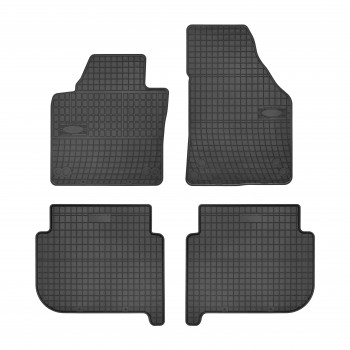 Volkswagen Touran (2003 - 2006) rubber car mats