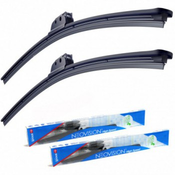 Dacia Logan 4 doors (2005 - 2008) windscreen wiper kit - Neovision®