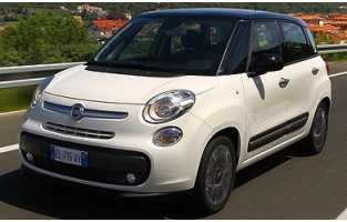 Fiat 500 L (2012 - current) economical car mats
