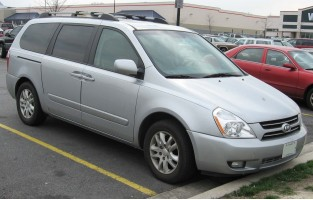 Kia Carnival (2005 - 2007) economical car mats