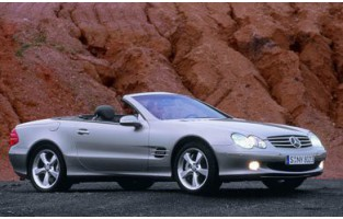 Mercedes SL R230 (2001 - 2009) reversible boot protector