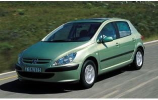 Peugeot 307 3 or 5 doors (2001 - 2009) economical car mats