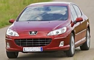 Peugeot 407 Sedan (2004 - 2010) reversible boot protector