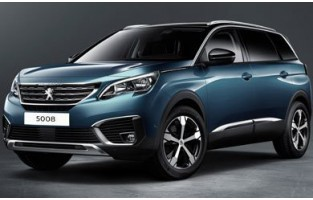 Peugeot 5008 7 seats (2017 - current) economical car mats