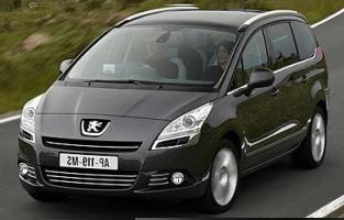 Peugeot 5008 7 seats (2009 - 2017) excellence car mats
