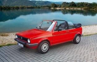 Volkswagen Golf 1 Cabriolet (1979 - 1993) excellence car mats