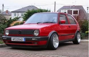 Volkswagen Golf 2 excellence car mats